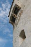 白色塔临时建筑pechnasen 免版税库存照片