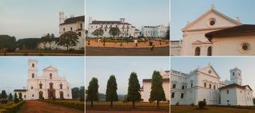 白色大厦教会 库存图片