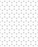 白色小点的无缝的样式 库存照片