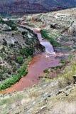 白色山亚帕基印第安保护区,亚利桑那,美国 免版税图库摄影