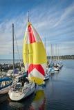 白色岩石码头,不列颠哥伦比亚省,加拿大 免版税库存照片