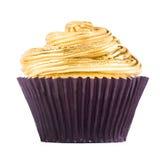白色巧克力杯形蛋糕 免版税库存图片