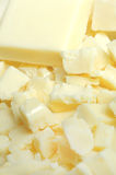 白色巧克力 免版税库存图片