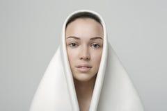 白色干净的秀丽 免版税图库摄影