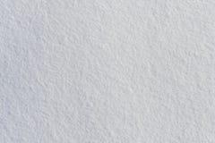 白色新冷淡的雪纹理顶视图 库存图片