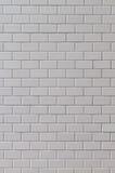 白色无缝的瓦片纹理 免版税库存图片