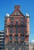 白色星线大厦在利物浦,英国 图库摄影