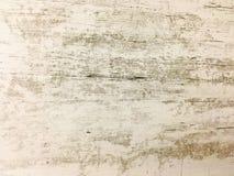 白色有机木纹理 背景轻木 老被洗涤的木头 库存照片
