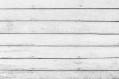 白色木地板纹理背景 板条样式表面柔和的淡色彩被绘的墙壁 库存图片