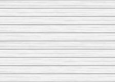 白色木板条纹理 库存图片