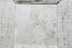 白色木纹理老神色 免版税库存照片