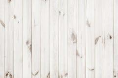 白色木纹理背景 免版税库存图片