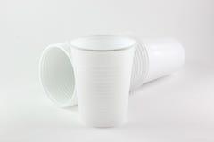 白色杯子 免版税库存照片