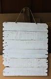 白色标签 免版税库存图片