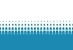白色梯度的小点蓝色和 免版税库存图片