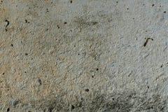 白色概略的混凝土墙背景纹理 图库摄影