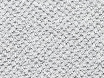 白色毛巾背景 免版税库存照片