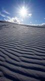 白色沙子,新墨西哥 免版税库存照片