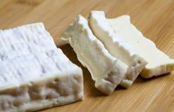 白色法国乳酪 免版税库存照片