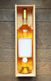 白色法国葡萄酒 免版税图库摄影