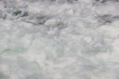白色泡沫作为背景 免版税图库摄影