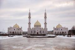 白色清真寺在Bolgar,俄罗斯 免版税库存图片