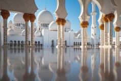 白色清真寺 免版税图库摄影