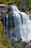 白色瀑布北卡罗来纳, 库存图片