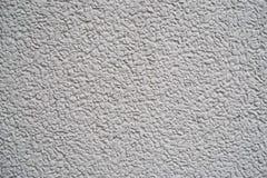 白色灰色粒状墙壁纹理 库存照片