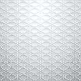 白色灰色雪花抽象冬天正方形背景 免版税库存照片