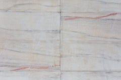 白色瓦片墙壁纹理,无缝 免版税库存照片