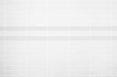 白色瓦片墙壁高分辨率真正的照片 免版税图库摄影