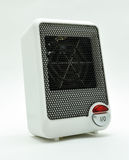 白色电暖气 免版税库存照片