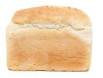 白色的面包接近的有壳的大面包 免版税库存图片