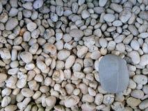 白色石渣 免版税库存照片