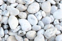 白色石纹理和背景 库存图片