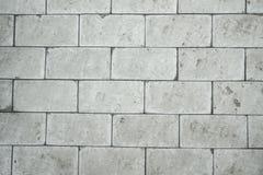白色砌石桥梁片断  库存照片