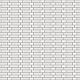 白色砖墙壁修士债券 免版税库存照片