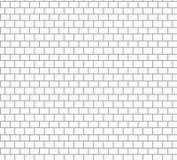 白色砖墙纹理传染媒介 免版税库存照片