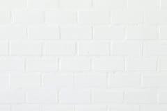 白色砖墙背景,纹理 图库摄影