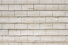 白色砖墙背景 图库摄影