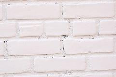 白色砖纹理背景 库存图片