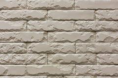 白色破碎石块砖墙样式纹理背景 库存图片