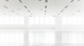 白色空的营业所 免版税图库摄影