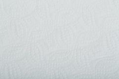 白色穿孔的纸纹理或背景 库存照片