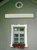 白色窗口, 免版税图库摄影