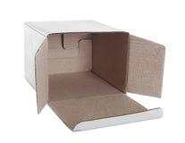 白色箱子 库存照片