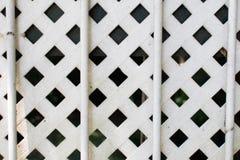 白色篱芭 免版税库存图片