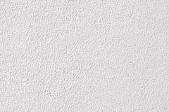 白色粒状膏药墙壁纹理 免版税库存照片