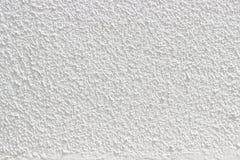 白色粗砺的水泥墙壁 免版税库存图片